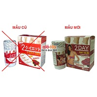 Phân biệt 2 DAY DIET Nhật và 2 DAY DIET Trung Quốc