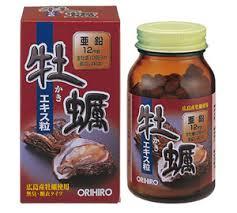 Tinh chất hàu tươi Orihiro Nhật Bản tăng cường sinh lý nam