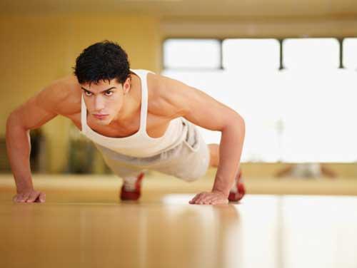 Bài tập tăng cân cho nam tại nhà