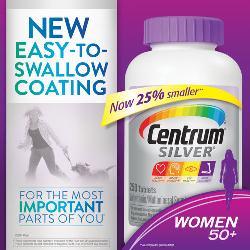 Viên uống bổ sung vitamin Centrum Silver women 50 giá bao nhiêu?