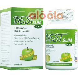 Cách sử dụng thực phẩm giảm cân Best Slim hiệu quả