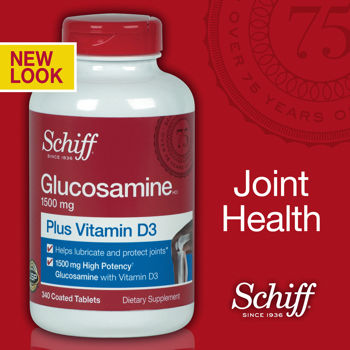 Schiff Glucosamine 1500 mg