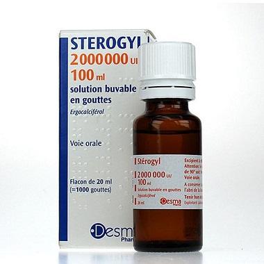 Kết quả hình ảnh cho Stérogyl 2000000UI/100ml