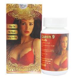 Nhau thai cừu Queen 9 - Sản phẩm nở ngực làm đẹp da