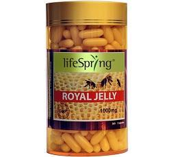 Sữa ong chúa Life Spring Royal Jelly nguyên chất (360 viên)