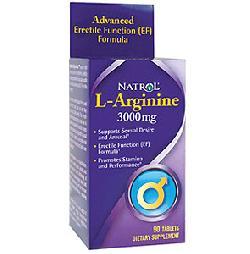 Viên uống L-Arginine 3000mg - tăng cường sinh lý nam