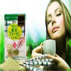 Collagen trà xanh Hanamai  sẩn phẩm làm đẹp Nhật Bản