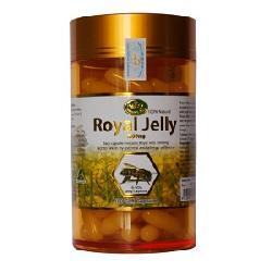 Thực phẩm chức năng Sữa ong chúa Nature's King 100% Natural Royal Jelly hộp 100 viên