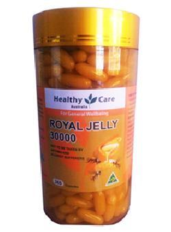 Sữa Ong Chúa Healthy Care Royal Jelly 30000 - 365 Viên Úc