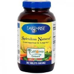 Earthrise Spirulina Natural - Tảo mặt trời spirulina tự nhiên dạng viên