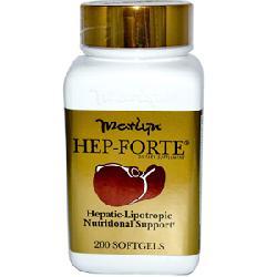 Hep- Forte - Viên uống bổ gan bảo vệ gan hộp 200 viên