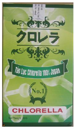 Tảo Lục Chlorella Nhật Bản chính hãng, nguyên chất 100%