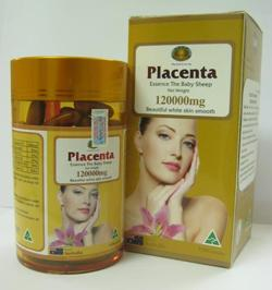 Nhau thai cừu placenta 120.000 mg