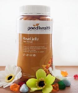 Sữa ong chúa Goodhealth Royal Jelly đánh thức vẻ đẹp làn da