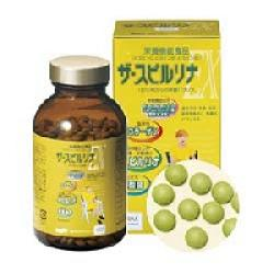 Tảo vàng Spirulina Nhật Bản EX nguyên chất - Hộp 500 viên