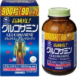Glucosamine Nhật Viên bổ xương khớp Glucosamine 1500mg 900 viên Orihiro