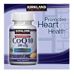 Viên uống hỗ trợ tim mạch Kirkland CoQ10 300mg hộp 100 viên