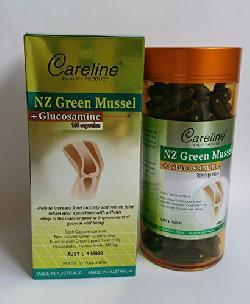 NZ Green Mussel Careline – Hỗ Trợ Điều Trị Xương Khớp Hiệu Quả Từ Úc