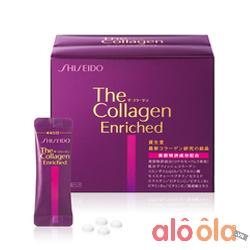 Shiseido The Collagen Enriched dạng viên