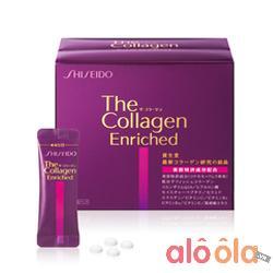 Shiseido The Collagen Enriched Dạng Viên Nhật Bản Chính Hãng Mẫu Mới