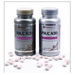 Viên uống tạo máu Folic Acid Vitamins For Life hộp 100 viên