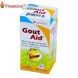Viên Gout Aid Vitamins For Life - Xoá tan nỗi lo bệnh Gout