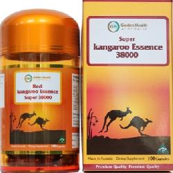 Sinh lý nam Super Kangaroo Essence 38000mg Golden Health