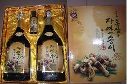 TPCN Nước hồng sâm nấm Đông Cô Hàn Quốc dạng chai chất lượng