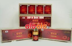 Cao Linh Chi đỏ hộp gỗ cao cấp 400g