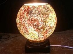 Đèn xông tinh dầu pha lê bằng điện Silent Night (hình tròn)