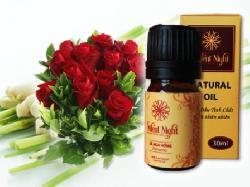Tinh dầu sả hoa hồng thiên nhiên nguyên chất Silent Night