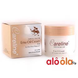 Kem dưỡng da tinh dầu đà điểu Emu Oil Cream Careline Úc