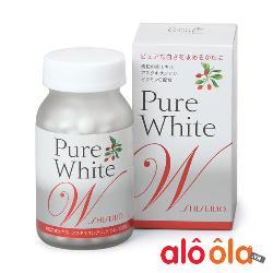 Pure White dạng viên Shiseido của Nhật - Viên uống trắng da, trị nám 270 viên
