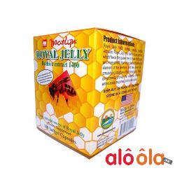 Thực phẩm chức năng Marlyn Royal Jelly Sữa Ong Chúa dạng viên Lọ 100 viên