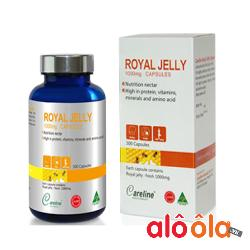 Sữa ong chúa Royal Jelly 1000mg - Cho làn da trắng rạng ngời