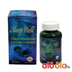 Sleep Well Viên Thảo Dược Giúp Ngủ Ngon Ngủ Sâu Của Mỹ Chính Hãng