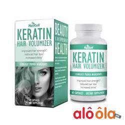 Viên Uống  Neocell Keratin Hair Volumizer Của Mỹ kích thích mọc tóc