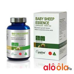 Viên Nhau Thai Cừu Baby Sheep Essence 33000 Careline Úc 200 Viên Review