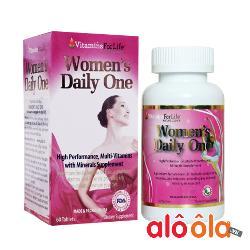Women daily one Cung cấp Vitamin hàng ngày cho Nữ giới