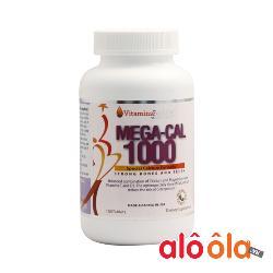 Viên canxi chống loãng xương Mega-Cal 1000 Vitamins For Life