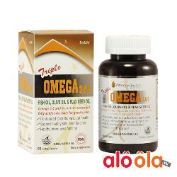 Triple Omega 3-6-9 Chăm sóc, bảo vệ tim mạch,trí não 90 viên