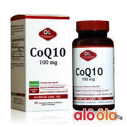 Viên uống hỗ trợ tim mạch CoQ10 100mg Olympian Labs của Mỹ