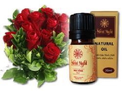 Tinh dầu hoa hồng nguyên chất Silent Night 100% tự nhiên