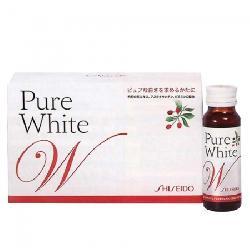 Shiseido Pure White - Nước uống làm trắng da Nhật Bản