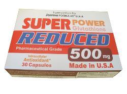 Glutathione Reduced 500mg  Viên uống khử độc gan và bảo vệ gan