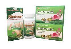 Liệu trình giảm cân của Học Viện Quân Y Slimtosen và Slimutea