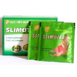 Trà giảm cân bằng lá sen Slimutea - Đề tài Học Viện quân y