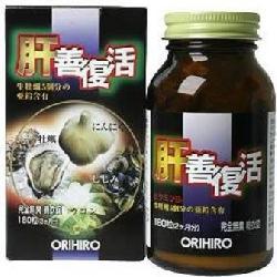 Viên tinh chất hàu tươi tỏi nghệ orihiro Nhật Bản bổ dương, tăng chất lượng tinh trùng