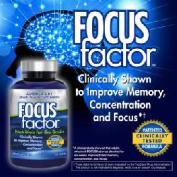 Focus factor nutrition for the brain - vitamin cho não bộ