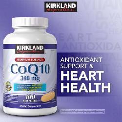 CoQ10 300mg Kirkland của Mỹ - Viên uống hỗ trợ tim mạch